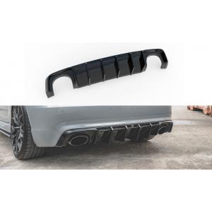 Maxton Achter Diffuser Zwart ABS Plastic Audi RS3-76924