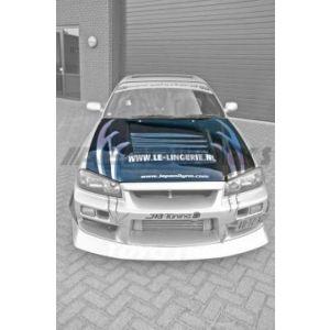 AeroworkS Motorkap NS-M Style Carbon Nissan Skyline-30617