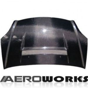 AeroworkS Motorkap VS2 Style Carbon Honda Civic-30655