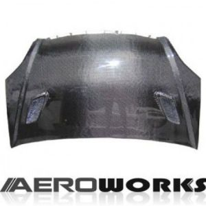 AeroworkS Motorkap Mugen Style Carbon Honda Civic-30614