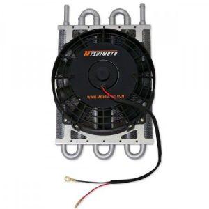 Mishimoto Versnellingsbak Koeler Heavy Duty Electric Fan Zwart Aluminium-39359