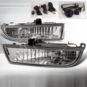 SK-Import Mistlampen Chrome Housing Helder Glas Honda Prelude-39474
