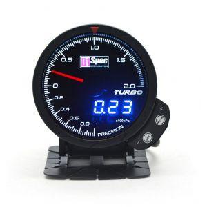 D1 Spec Meter Version 3 Zwart 60mm Boost Druk Meter-62407