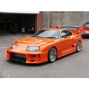 Chargespeed Wide Body Kit Super GT Style Polyester Toyota Supra-34638