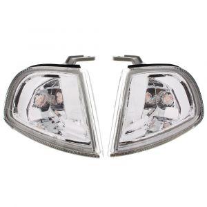 DEPO Hoeklichten Chrome Housing Helder Glas Honda Prelude-35157