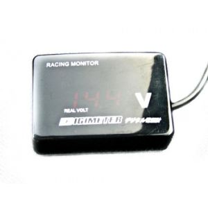 D1 Spec Voltmeter Digitaal Zwart-35455