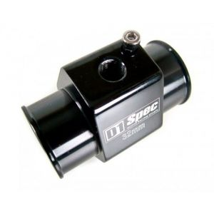 D1 Spec Water Temperatuur Sensor Adapter Zwart Aluminium-35457