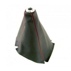 D1 Spec Pookhoes Rode Stiksels Zwart Leer-37228