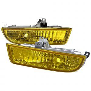 SK-Import Mistlampen JDM Style Chrome Housing Geel Glas Honda Prelude-38105