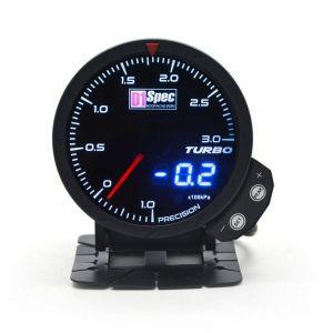D1 Spec Meter Version 3 Zwart 60mm Boost Druk Meter-62408