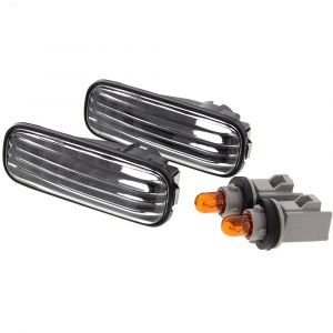 Sonar Richtingaanwijzer Lampen Long Black Housing Helder Glas Honda Civic,Accord,Integra-41053