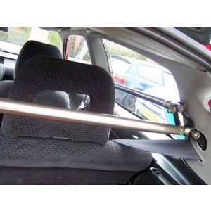 SK-Import Veerpootbrug B+C Pillar Zilver Aluminium Honda Civic-45061