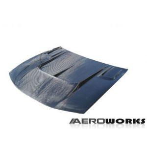 AeroworkS Motorkap J Style Carbon Nissan S14-30610