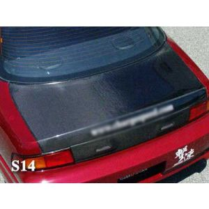AeroworkS Achterklep Carbon Nissan S14-30645