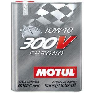 Motul Motorolie 300V Chrone 2 Liter 10W-40 100 Synthetisch-58894