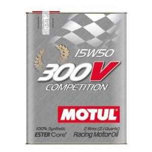 Motul Motorolie 300V Competition 2 Liter 15W-50 100 Synthetisch-58895