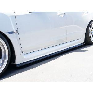 PU Design Side Skirts CS Bottom Line Zwart Polyurethane Subaru Impreza-60102