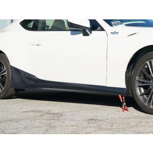 ABS Dynamics Side Skirts Zwart ABS Plastic Subaru,Toyota Pre Facelift-60108