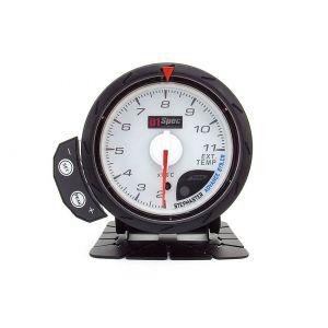 D1 Spec Meter Version 2 Wit 60mm Uitlaat Gas Temperatuur-60295