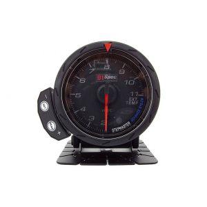 D1 Spec Meter Version 2 Zwart 60mm Uitlaat Gas Temperatuur-60302