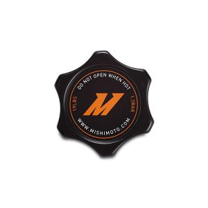 Mishimoto Radiateurdop Zwart Aluminium-64848-BK