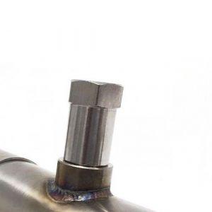 Blox Racing Motorstoringslampje Eliminator Adapter Roestvrij Staal-66064