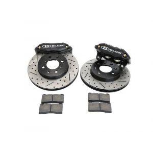 Blox Racing Voor Big Brake Kit Tuner Series Zwart 262mm Honda Civic,CRX,Del Sol-66071