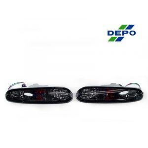 DEPO Voor Smoke Richtingaanwijzers Chrome Housing Smoke Glas Mazda MX-5-67891