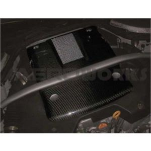 AeroworkS Motor Cover Type II Style Carbon Nissan 350Z Facelift-30663