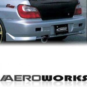 AeroworkS Achter Bumper TRC Style Polyester Subaru Impreza-30695