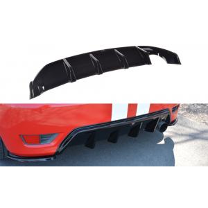 Maxton Achter Diffuser Zwart ABS Plastic Ford Fiesta-76962