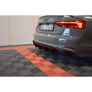 Maxton Achter Diffuser Zwart ABS Plastic Audi S5-76865
