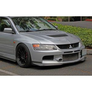 PU Design Voor Bumper Lip Ralliart Style Zwart Polyurethane Mitsubishi Lancer Evolution-30173