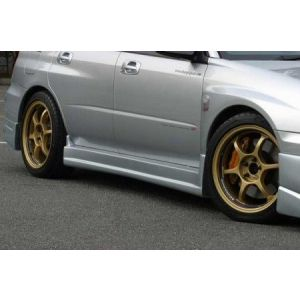 Chargespeed Side Skirts Type 1 Polyester Subaru Impreza Pre Facelift-34669