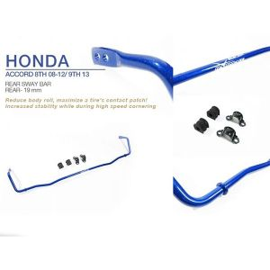 Hardrace Achter Stabilisatorstang Blauw 19mm Roestvrij Staal Honda Accord,Accord Aero Deck-66551