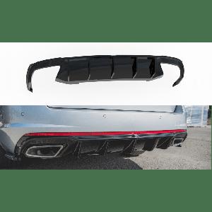 Maxton Achter Diffuser V2 Zwart ABS Plastic Skoda Octavia-77195