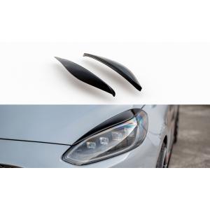 Maxton Voor Booskijkers Zwart ABS Plastic Ford Fiesta-76986