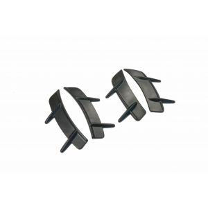 PU Design Voor en Achter Aero Turbulators T Style Zwart Polyurethane Subaru,Toyota Pre Facelift-79566