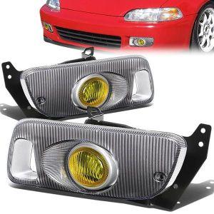 SK-Import Mistlampen Geel Glas Honda Civic-79480