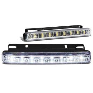 SK-Import Voor Mistlampen 8 LEDs Helder Glas-79424