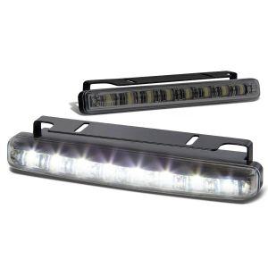 SK-Import Voor Mistlampen 8 LEDs Smoke Glas-79425