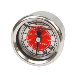 NRG Innovations Brandstofdruk Meter Rood-77896