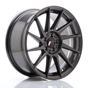 JR-Wheels JR22 Velgen 17 Inch 8J ET35 5x100,5x114.3 Hyper Grijs-76316