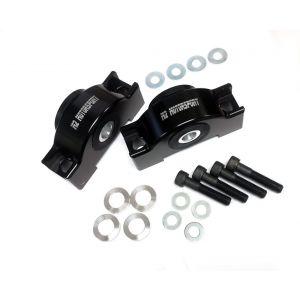 M2 Motorsport Voor Motorsteun Geanodiseerd Zwart Aluminium Honda Civic,CRX,Del Sol-77343