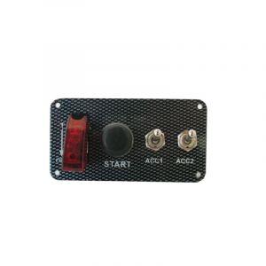 QSP Startpaneel Carbon Look-53682