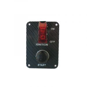 QSP Startpaneel Carbon Look-53680