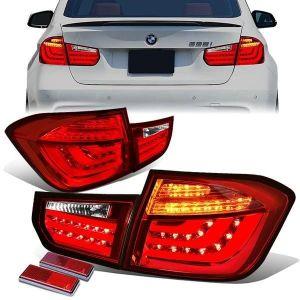 SK-Import Achterlicht LED Chrome Housing BMW 3-serie Pre LCI-79471