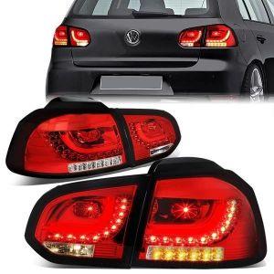 SK-Import Achterlicht LED Chrome Housing Volkswagen Golf-79473