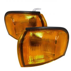 SK-Import Corner Lights Chrome Housing Oranje Glas Subaru Impreza-79697
