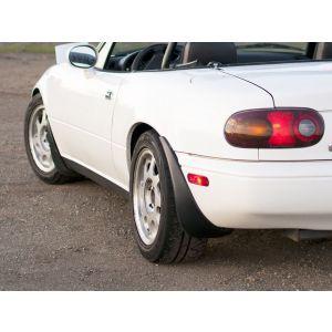 PU Design Voor en Achter Spatlappen OEM Style Zwart Polyurethane Mazda MX-5-56335